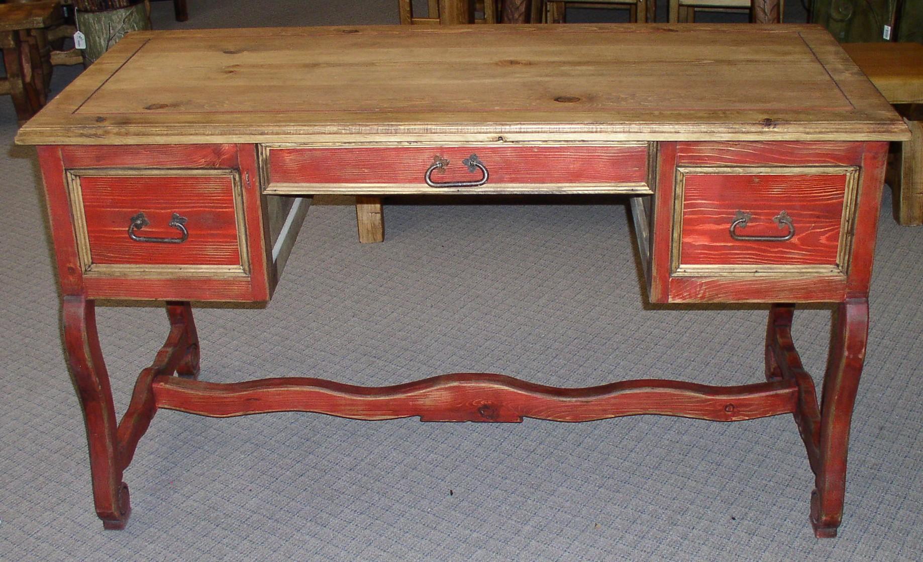 Queen Anne Desk >> 7419 Desk Queen Ann Casa Decor