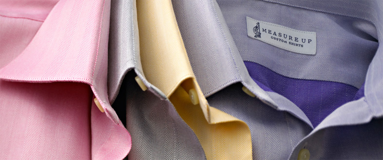 Measure Up Custom Shirts. Made In Tennessee. A shirt for every day, but not an every day shirt.