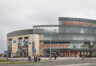 GALERIA BAŁTYCKA SHOPPING CENTRE IN GDANSK