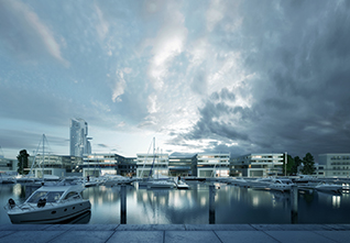 NEW MARINA IN GDYNIA
