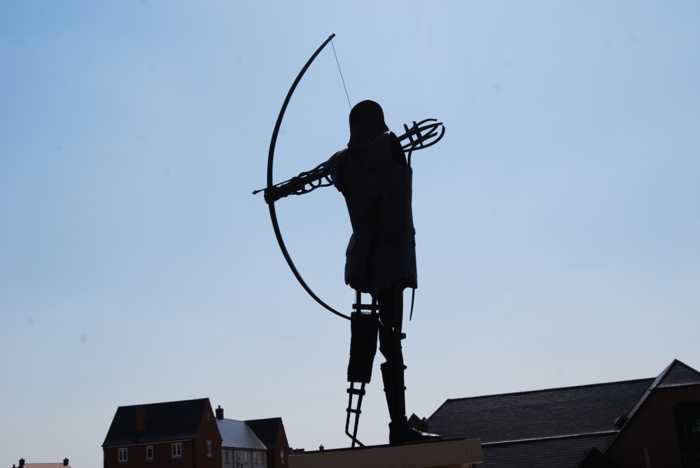 Alternative view of the Amesbury Archer  Photo courtesy of Keith Kellett