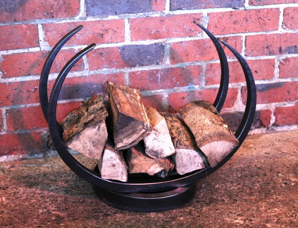 Elliptical log hoop (interior) SMALL 500mm wide x 410mm high x 270mm deep £199