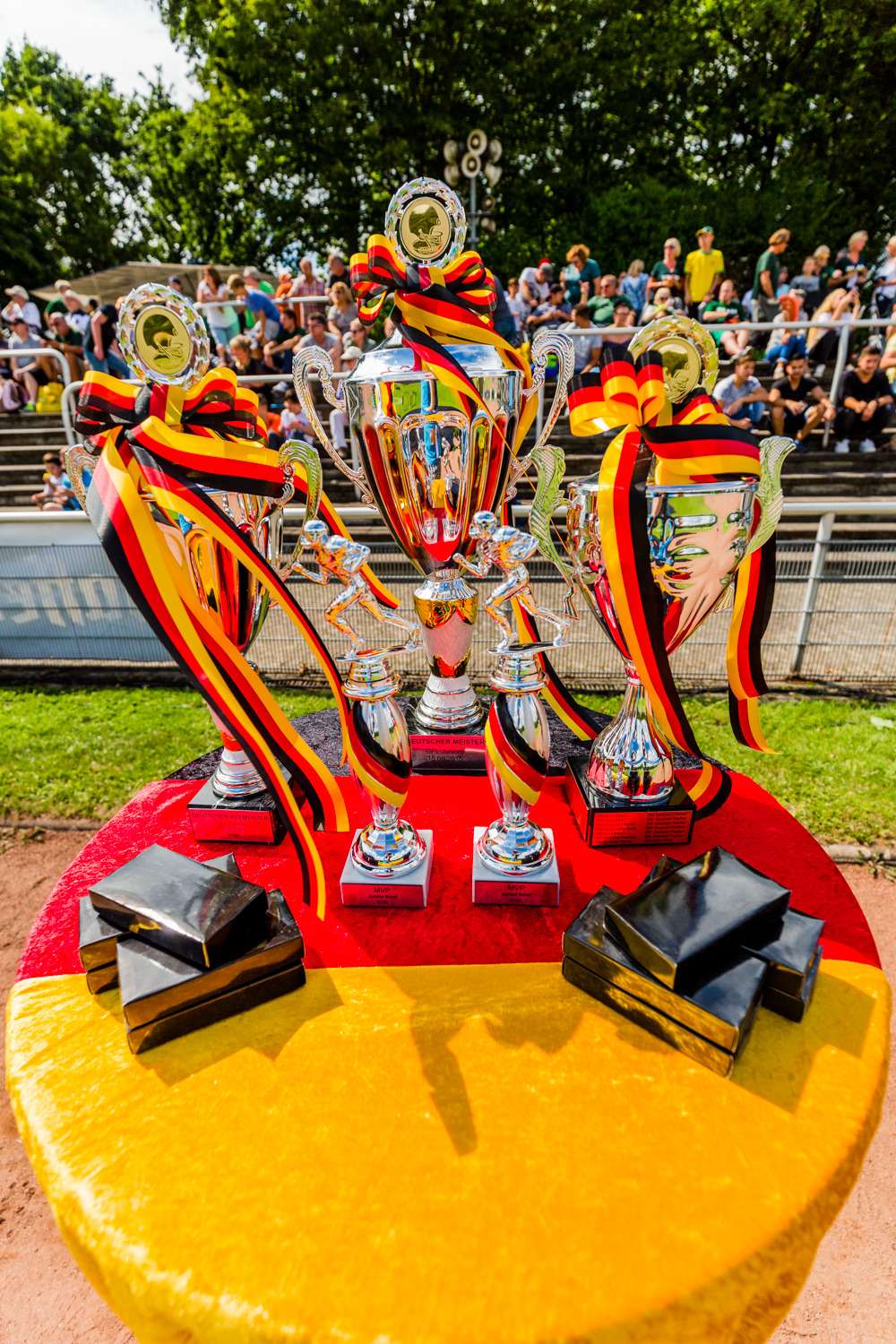 COLOGNE, GERMANY - August 15, 2015: Junior Bowl XXXIV, Cologne C