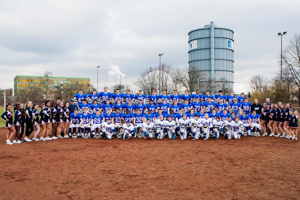 GFLJ 2013 - Dortmund Giants U19 - Mannschaftsbilder