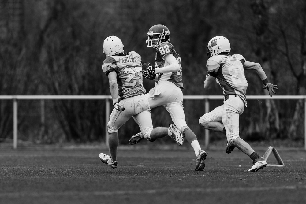 GFLJ 2013 - Dortmund Giants U19 vs. Bonn Gamecocks U19