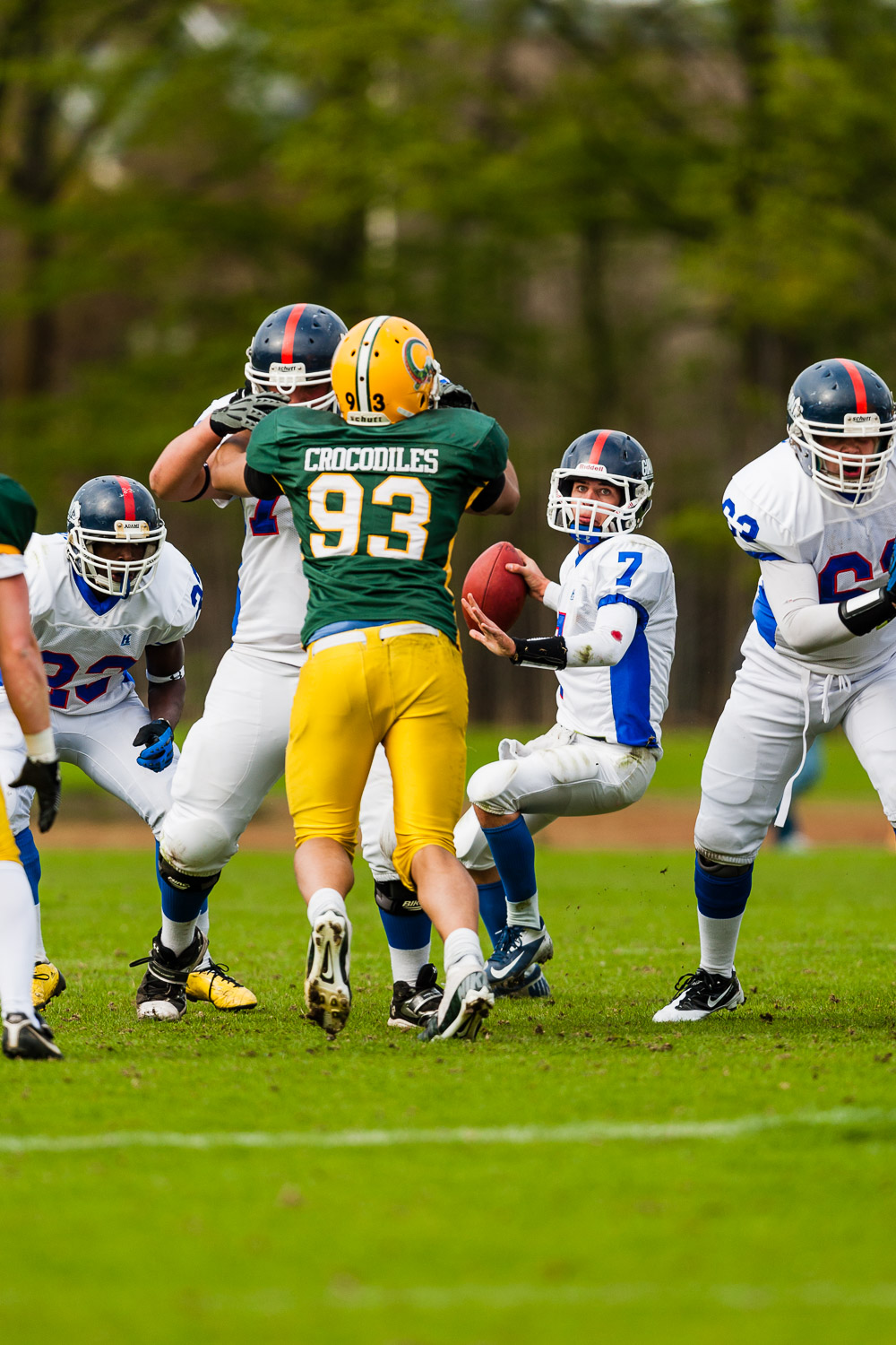 GFLJ 2013 - Dortmund Giants U19 vs. Cologne Crocodiles U19