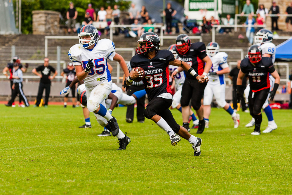 GFLJ 2013 - Dortmund Giants U19 vs. Düsseldorf Panther U19