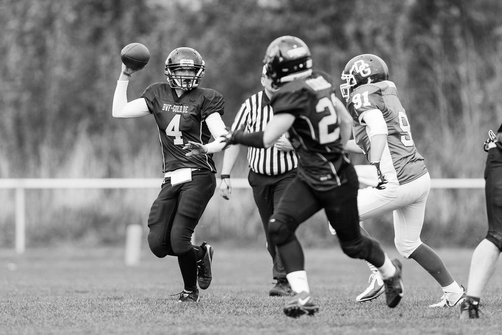 GFLJ 2014 - Dortmund Giants U19 vs. Cologne Falcons U19