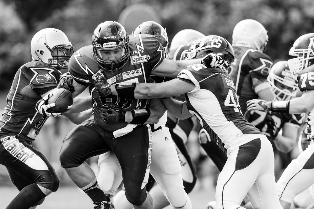 Oberliga NRW 2014 - Dortmund Giants vs. Remscheid Amboss