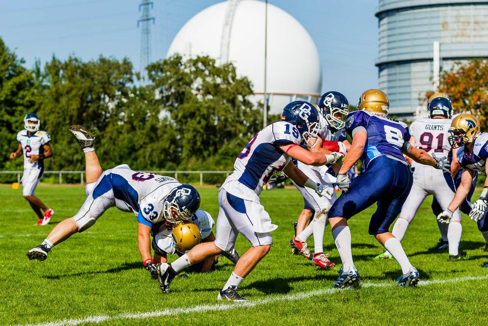 Oberliga NRW 2015 - Dortmund Giants vs. Schiefbahn Riders