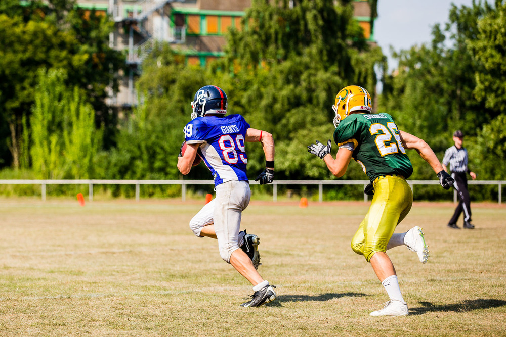 GFLJ 2015 - Dortmund Giants U19 vs. Cologne Crocodiles U19