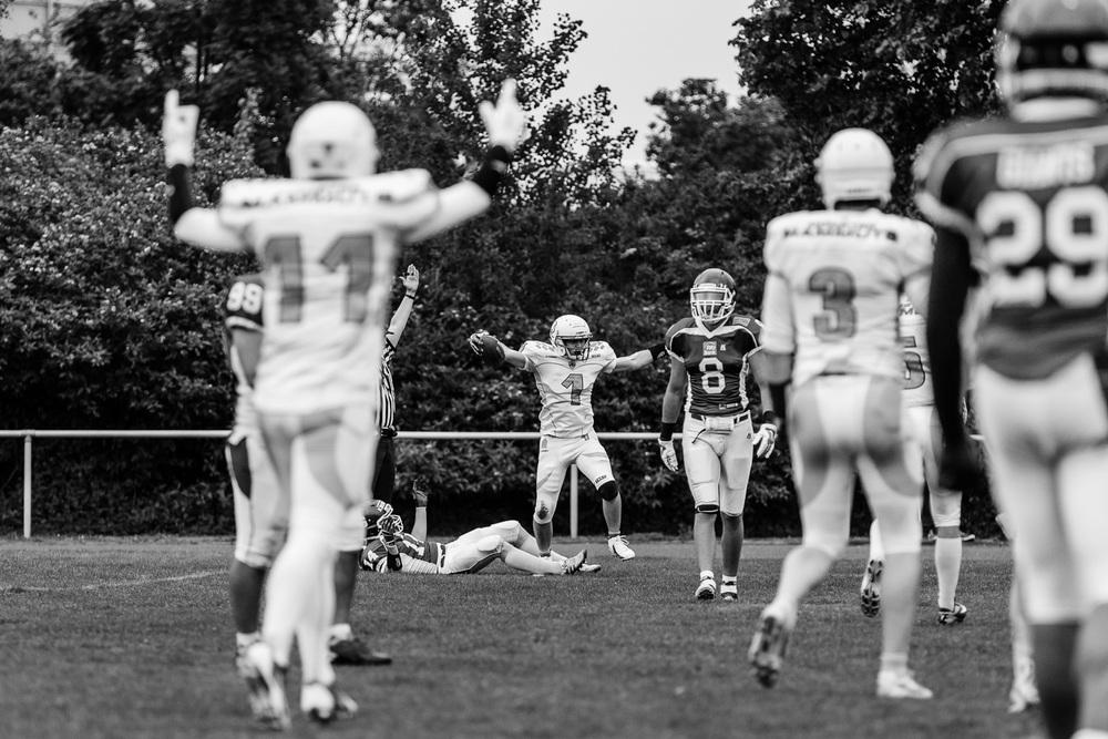 Oberliga NRW 2015 - Dortmund Giants vs. Münster Mammuts