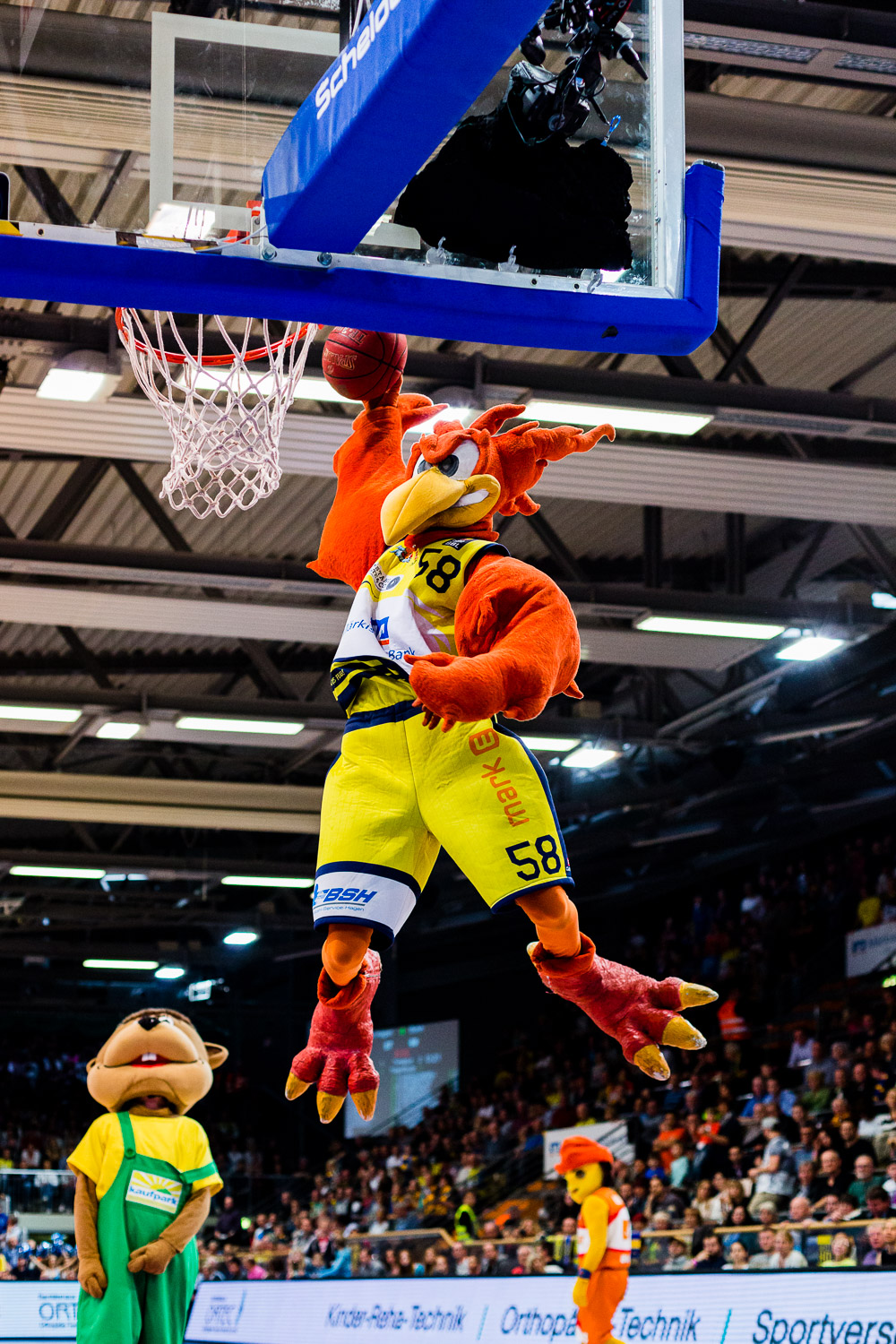 Phoenix Hagen vs. Telekom Baskets Bonn - 16.04.2015, Enervie Are