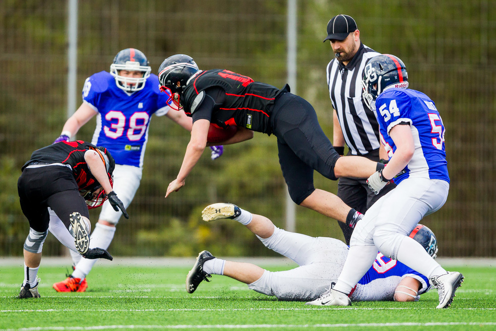 Football - GFLJ - Dortmund Giants U19 - Düsseldorf Panther U19