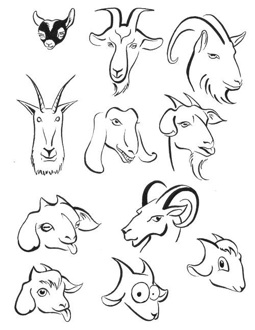 Goats — Inksplot Studios