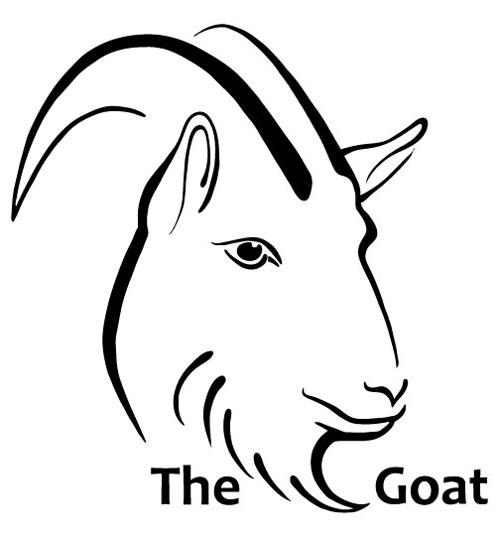 Goat Logo: English Pub Edition — Inksplot Studios Goat Face Side Drawing