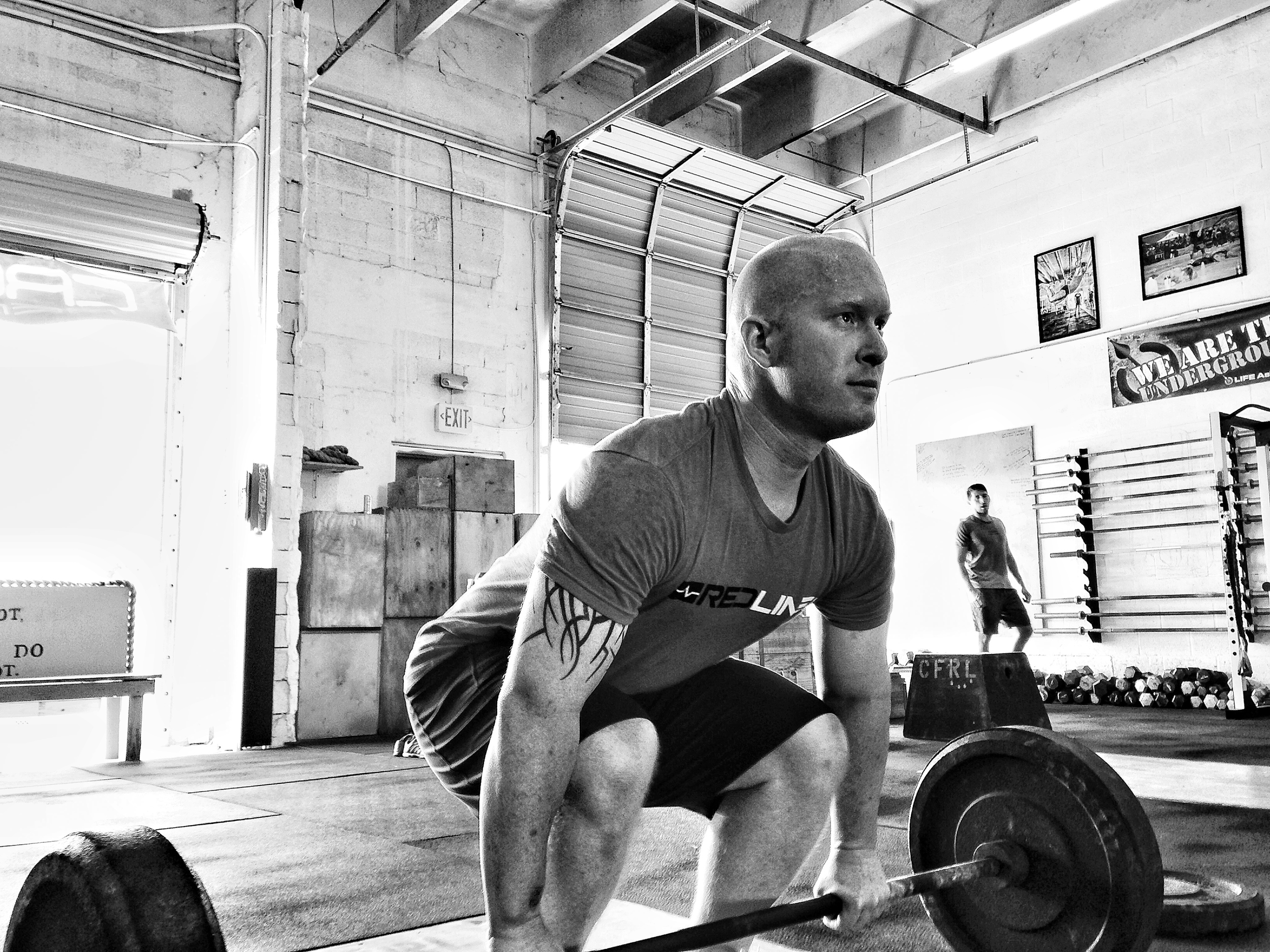 Acey Edgemon-CrossFit Level 1 Trainer, CrossFit Olympic Trainer Professional Firefighter.