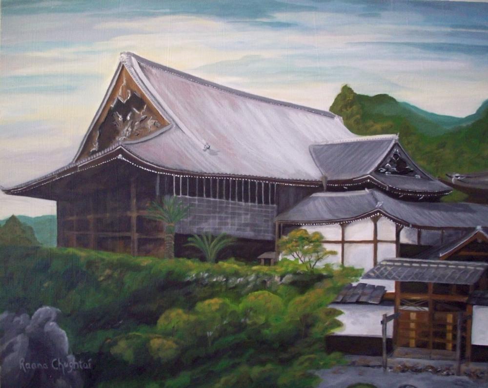 Saikyo-ji Temple in Sakamoto, Japan