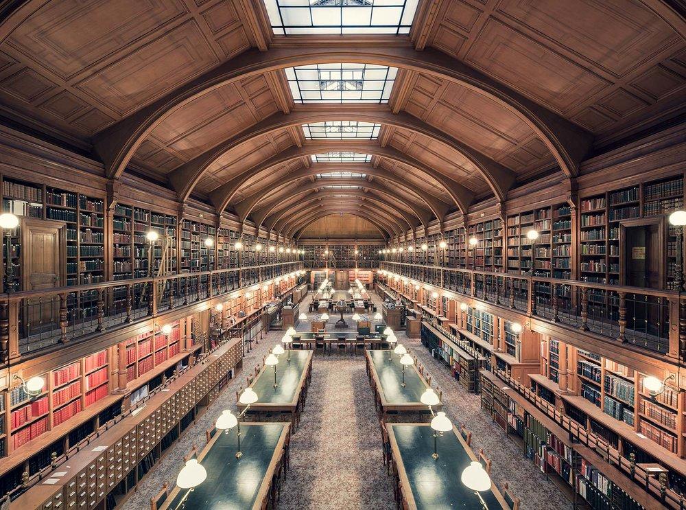 Bibliothèque de l'Hotel de Ville de Paris, Paris, 1890