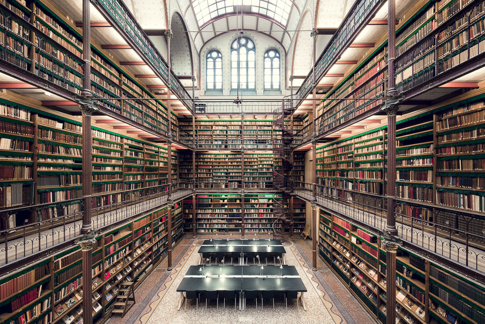 The Rijksmuseum Library, Amsterdam, 1885