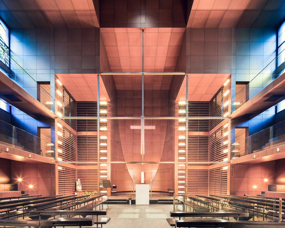 Notre-Dame-de-l'Arche-d'Alliance, Paris, France (Architecture-Studio, 1998)
