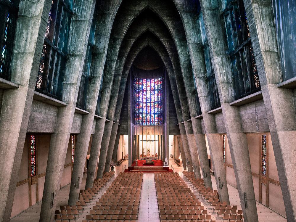 Sainte-Thérèse-de-l'Enfant-Jésus, Metz, France (André Remondet, 1959)