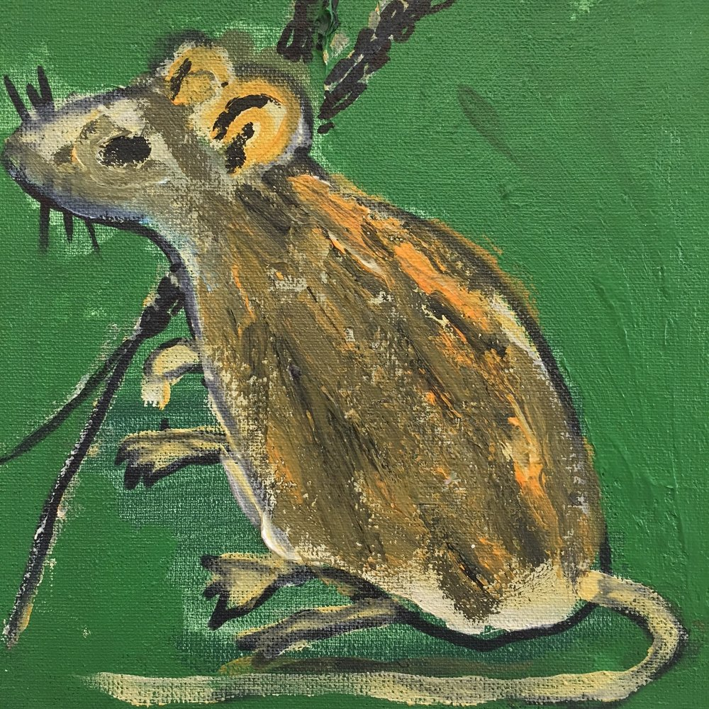 To a Mouse - Helen Mcleod