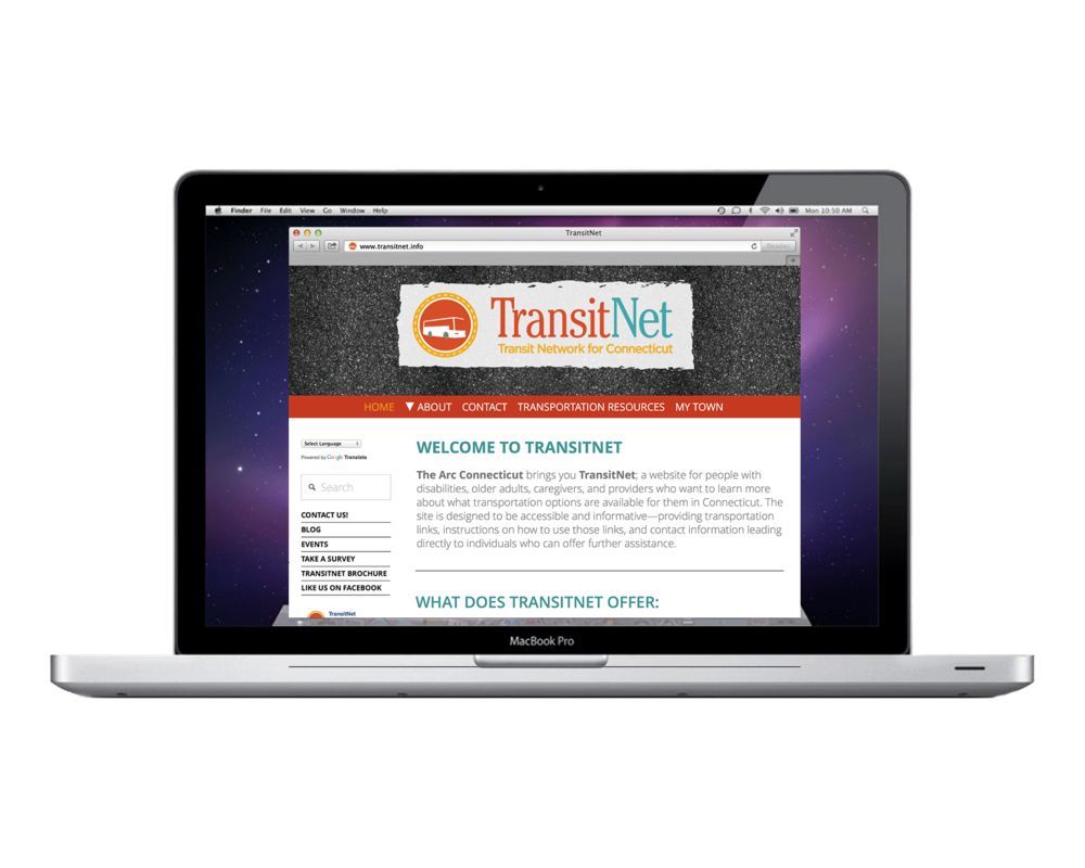 TransitNet Website