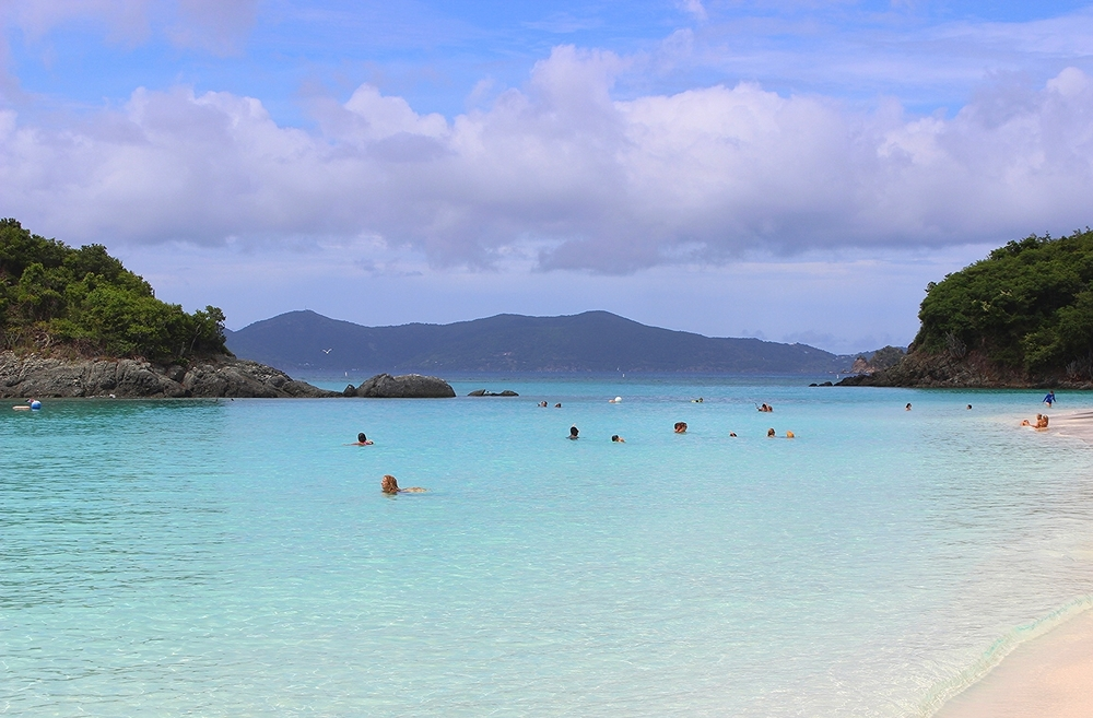 On one of the last days of our vacation we visited St. John and stopped by Trunk Bay which is often referred to as one of the most beautiful beaches in the world. I would definitely agree. Pictures cannot do it justice!