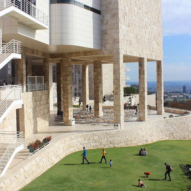 The world class art at The Getty was well worth the trip but it was the architecture and grounds that were truly spectacular. It was definitely my favorite stop in Los Angeles.