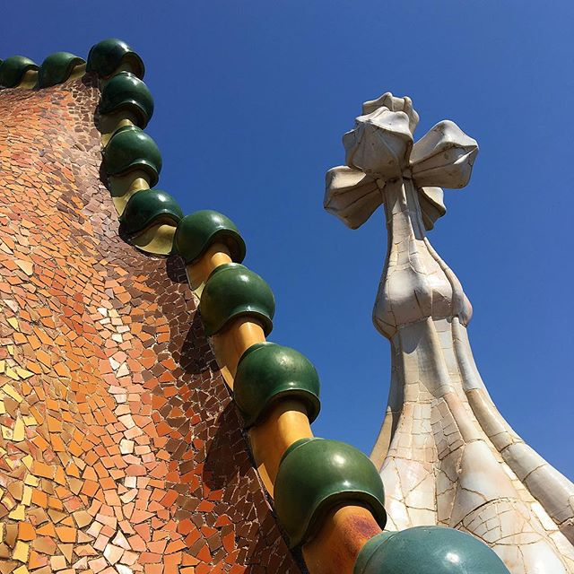 """The straight line belongs to men, the curved one to God."" - Gaudi"