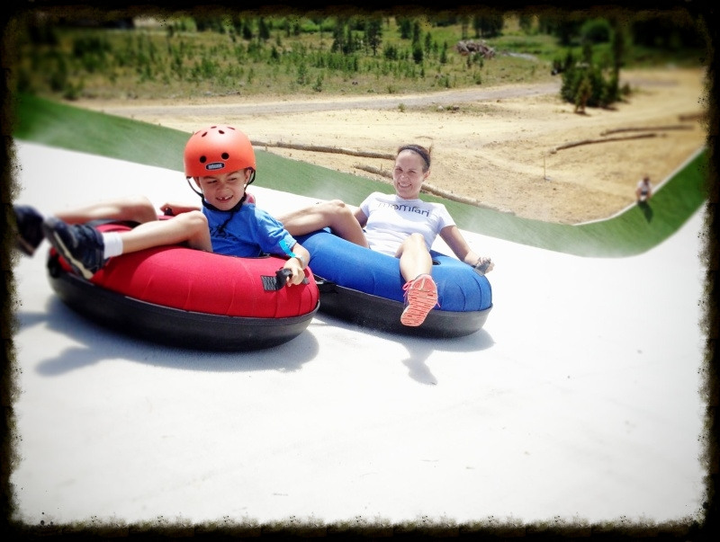 Snow Mountain Ranch debuted its summer tubing hill in July 2014, the only one in Colorado and one of only three in the U.S. It opened for its first full season in May 2015 and runs through October.   Photo by Michael Mundt