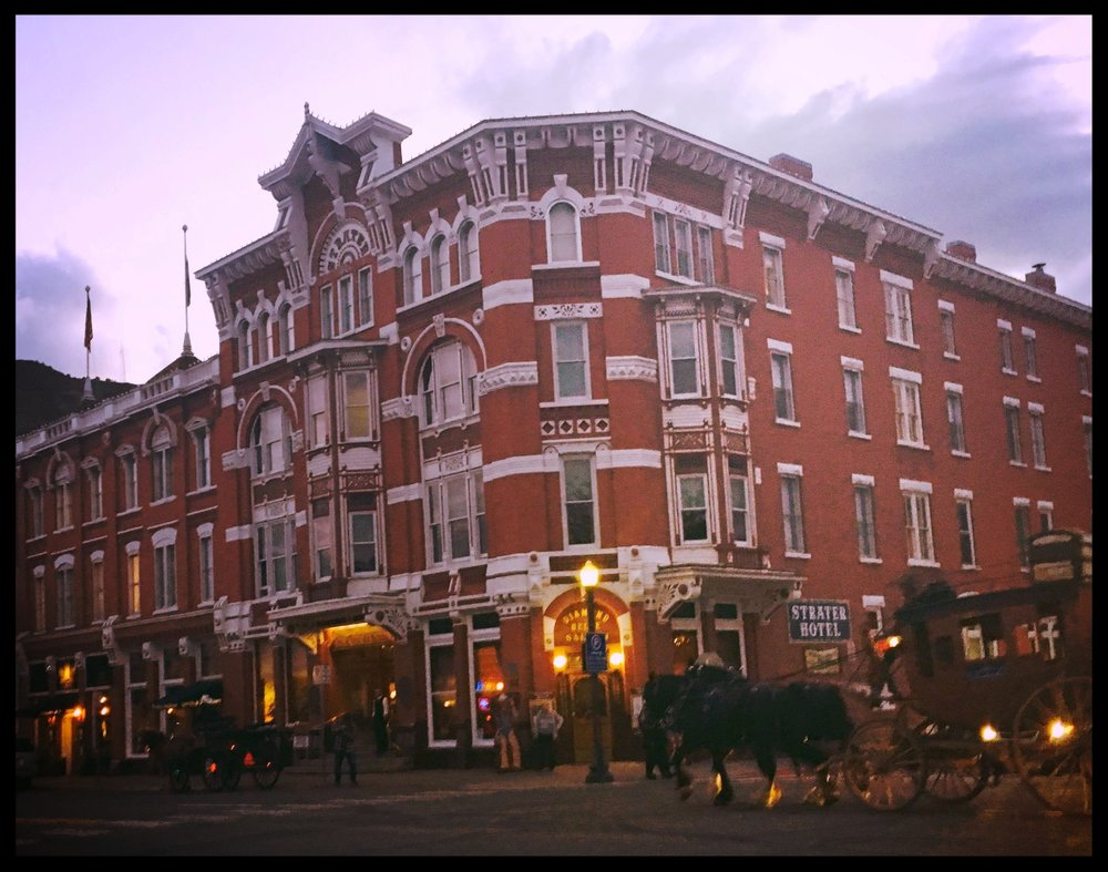 The historic Strater Hotel, located in the heart of charming Durango, Colo. Photo by  Heather Mundt.