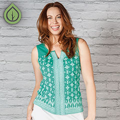 My newest favorite shirt is Aventura's Merita Tank ($62).  Shop  20-percent off  using one-time code: Momfari20. (Offer expires in 2018.)
