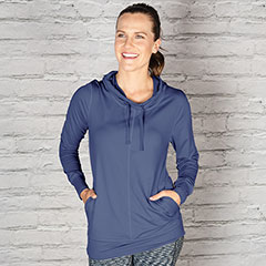 The Tempo Hoodie, part of Aventura's athleisure line ($89).