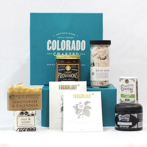 "The Colorado Crafted ""Spa Box"" is filled with some of the state's finest products that Mom will love."