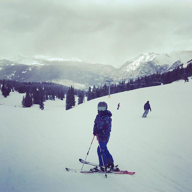 So cold but oh-so-snowy @coppermtn. #coppermountain #skicopper