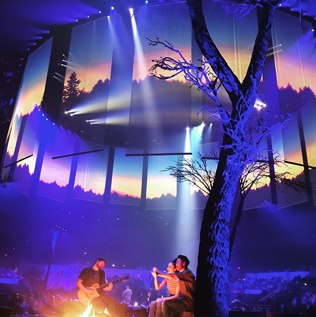 Oh, you know. Just a little campfire at the JT concert, where my dear friend Nici somehow scored floor tickets that got us about 6 feet from the stage. OMFG. I only had to come to San Diego to get there! #manofthewoodstour
