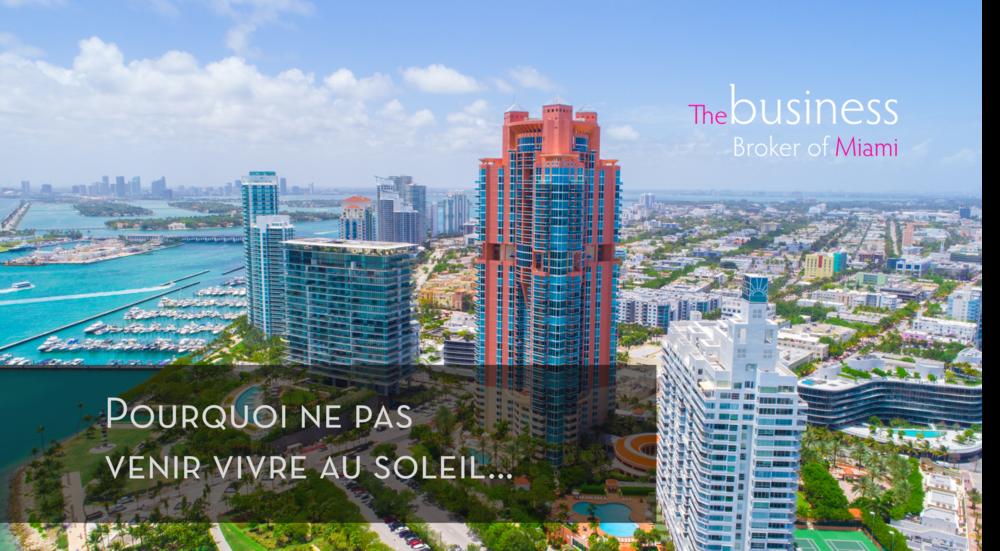 Achat Commerce Entreprise Miami Floride