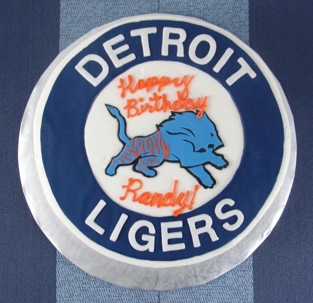 Detroit Ligers Cake