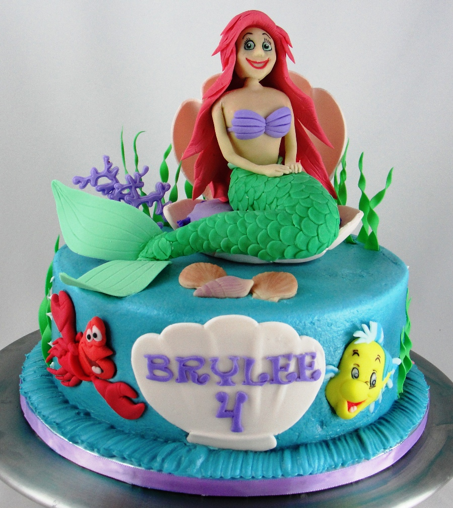 LBC 1308 - Little Mermaid Cake 1.jpg