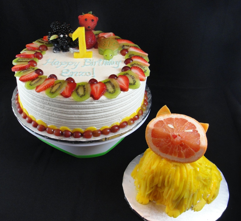 LBC 13F - Animal Fruit Birthday Cake 1.jpg