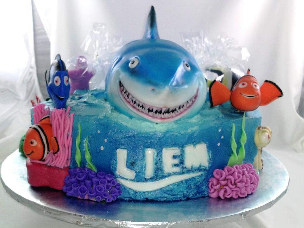 Nemo Birthday Cake Ideas