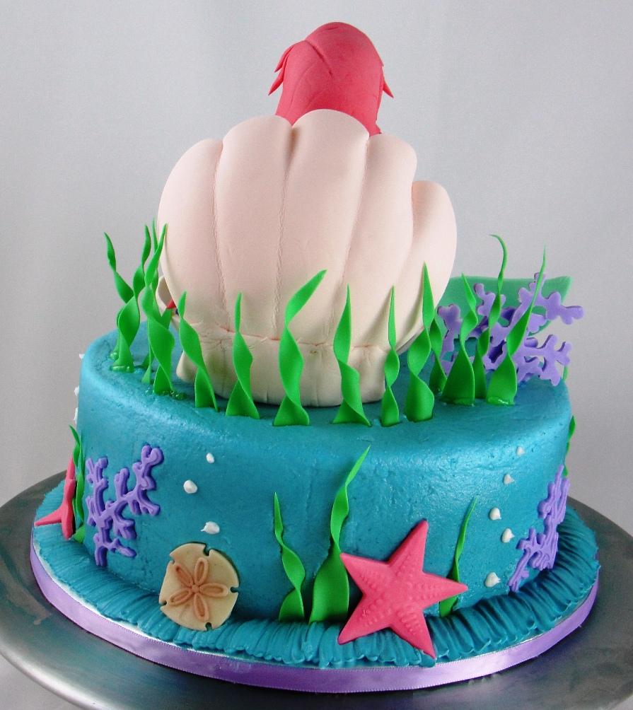 LBC 1308 - Little Mermaid Cake 3.jpg
