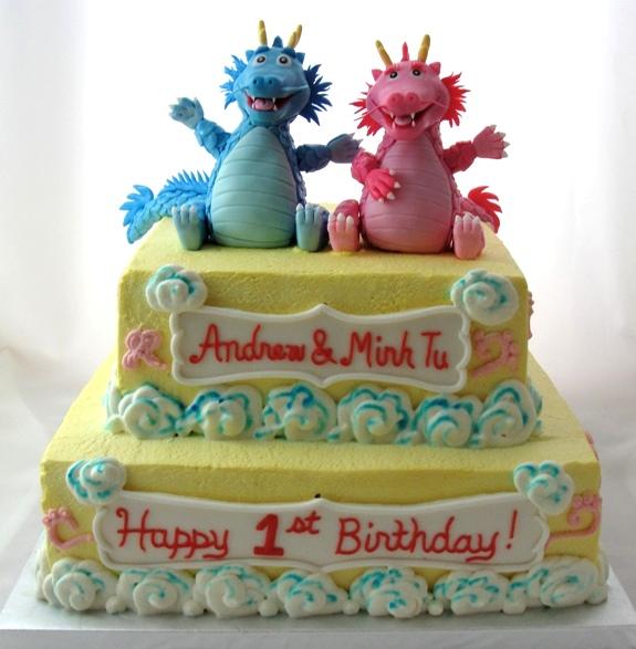 LBC 1305 - Baby Dragons Cake 1.jpg
