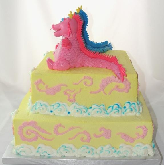 LBC 1305 - Baby Dragons Cake 2.jpg