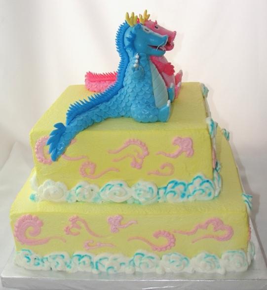 LBC 1305 - Baby Dragons Cake 3.jpg