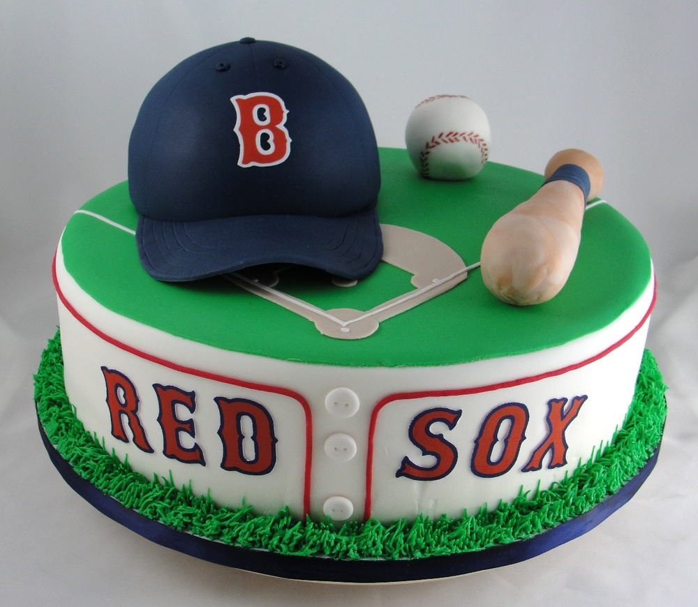 Red Sox Cake Images : 1000px