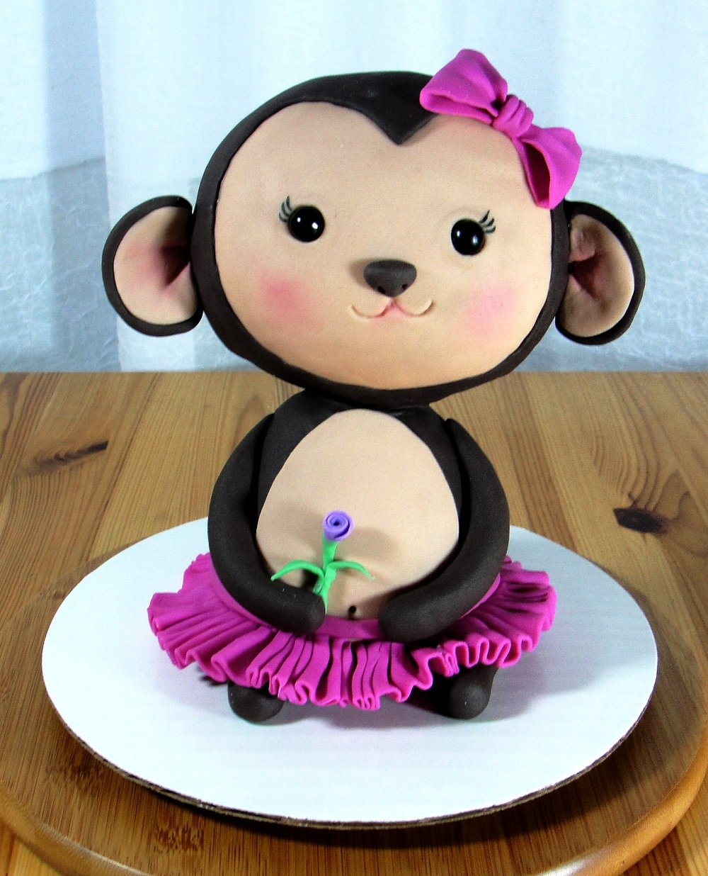 LBC 1423 - Girl Monkey Baby Shower Decoration.jpg