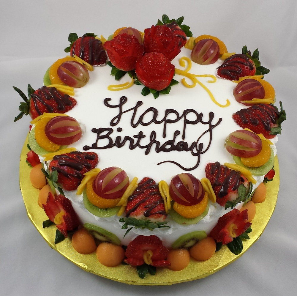 Cake With Fruit Birthday : Gallery   L Oven Baked Cakes